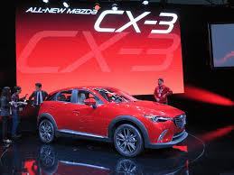 mazda car line la auto show the 2016 mazda cx 3