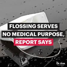 Flossing Meme - flossing doesn t work healthy mouths require oil pulling instead