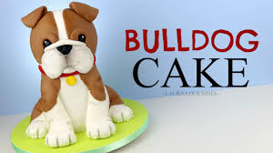bulldog cake topper how to make a 3d bulldog cake loukaides