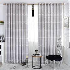 fresh gray striped curtains and white and gray striped curtains