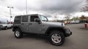 jeep rubicon silver 2 door 2014 jeep wrangler unlimited sport billet silver el228008