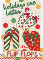 boxed tropical christmas cards