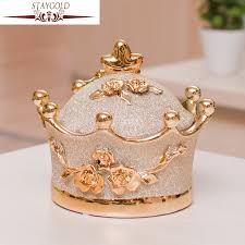 popular crown home ornaments buy cheap crown home ornaments lots