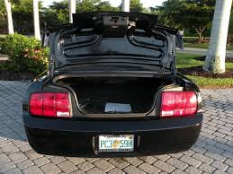 mustang trunk space 2006 ford mustang v6 deluxe for sale in fort myers fl stock