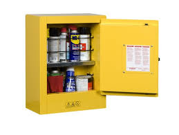 Yellow Flammable Storage Cabinet Sure Grip Ex Mini Flammable Safety Cabinet Transportable 1