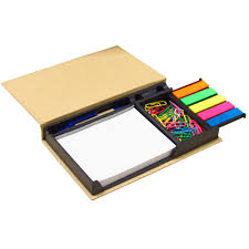 Desk Accessory Sets by New Mini Bundle Set Neat And Compact Notes Organizer With Paper