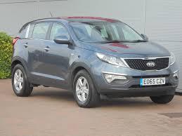used kia sportage petrol for sale motors co uk