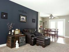 decorative and quietly seductive almost black walls with a rich