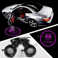 Dodge Challenger Lights - auto welcome door projector light spotlight lamp laser ghost
