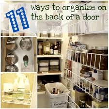 11 ways to organize on the back of a door organizing made fun