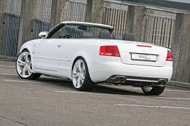 convertible audi white audi a4 convertible gets a complete tuning package from sport