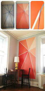 Designing A Wall Mural 25 Best Painted Wall Art Ideas On Pinterest Orange Wall Paints