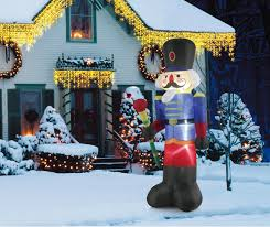 nutcracker soldier decorations outdoor inflatables