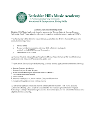 doc 409425 letters of recommendation for scholarship u2013 sample