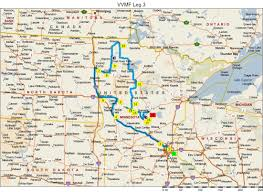 Route Map by Route Map Vfw Ride For Healing