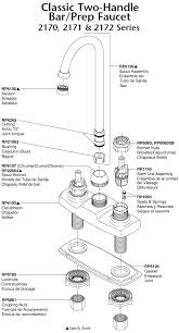 delta kitchen faucet parts diagram plumbingwarehouse com delta kitchen faucet parts for models 2170
