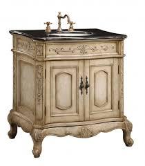 Furniture Style Vanity 30 Inch Single Sink Furniture Style Bathroom Vanity With Cream
