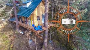 I Have Built A Treehouse - off the grid alaskan tiny house in a treehouse land u0026 building