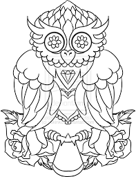 sugar owls tattoos design tattoo design antique owl by yukinko