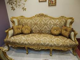 antique sofa set designs gold antique carved sofa set for living room