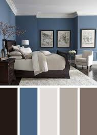 paint colors for living room walls with dark furniture this bedroom design has the right idea the rich blue color palette