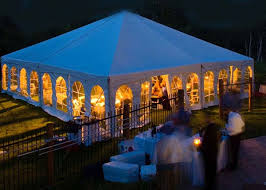 Tent In Backyard by Tent Rentals
