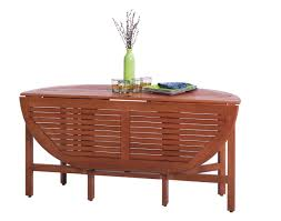Drop Leaf Patio Table 60 X 42 Eucalyptus Drop Leaf Table