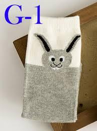 30pcs lot fox socks kids cartoon 3d knee high socks animal mouse