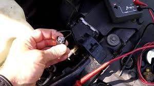 2003 bmw 325i radiator fan how to test install fan switch on car bmw youtube