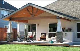 how to build a metal roof over a patio how to roof a patio with