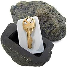 amazon com vanitek hide a spare key fake rock looks u0026 feels