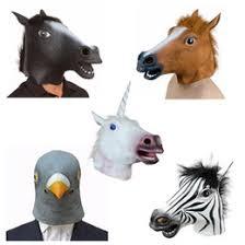 Horse Halloween Costumes Sale Discount Crazy Horse Mask 2017 Crazy Horse Mask Sale