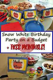 25 snow white birthday ideas snow white