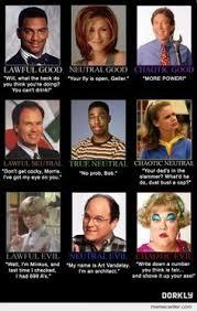 Sitcom Meme - 2012 republican presidential candidates alignment chart d d