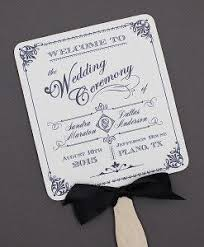 wedding fan program template wedding paddle fan program with blue rococo design program