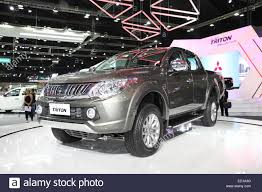 mitsubishi triton 2014 bangkok november 28 mitsubishi all new triton car on display at