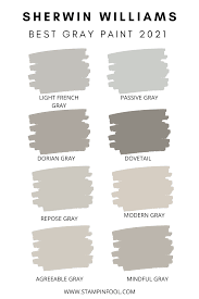 best sherwin williams grey colors for kitchen cabinets the best sherwin williams gray paint colors in 2020
