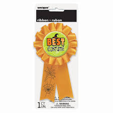 halloween best costume award ribbon halloween party supplies