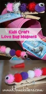love bug magnets valentine u0027s kids toddlers craft