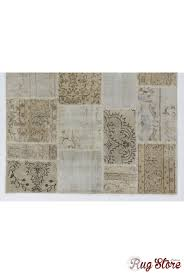 Washed Out Colors - cm beige u0026 cream color patchwork rug overdyed washed out neutral