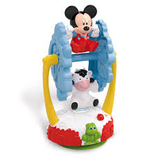disney mickey mouse baby mickey spinning farm 12 00 hamleys