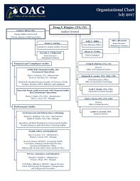 organizational chart michigan office of the auditor general