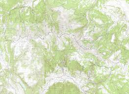 Colorado Elevation Map by La Garita Wilderness Colorado Free Topo Trail Maps