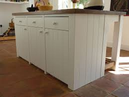 bespoke kitchen island tongue and groove kitchen handmade by henderson furniture 2