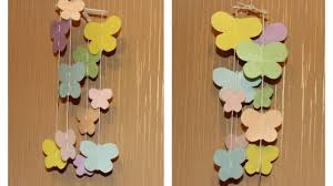 make a cute butterfly baby mobile diy home guidecentral youtube