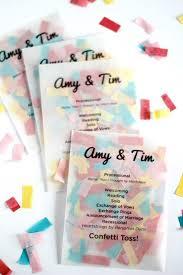 create wedding programs 15 non traditional wedding programs wedding programs confetti