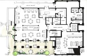 Kitchen Floor Plans By Size by Restaurant Floor Plan With Bar With Inspiration Image 38466