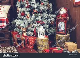 interior design gifts beautiful christmas interior design closeup decorated stock photo