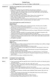 resume templates word accountant trailers plus peterborough telecommunications technician resume sles velvet jobs