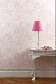 Paris Wallpaper For Bedroom by Paris London Rome Pink Wallpaper By Clarke U0026 Clake Bedrooms
